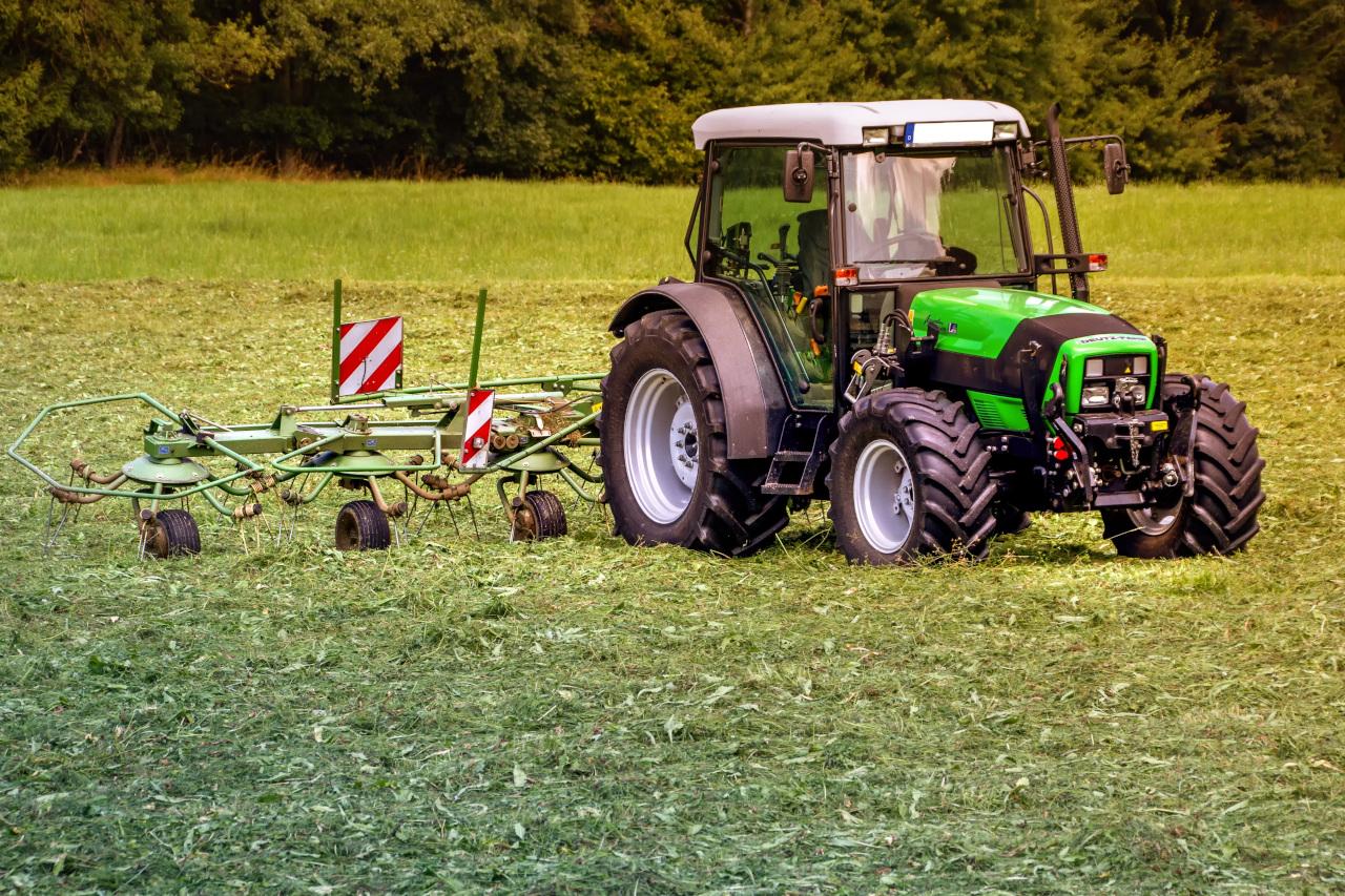 Montaż opon rolniczych